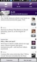 Screenshot of UMHB Crib Sheet for Alumni