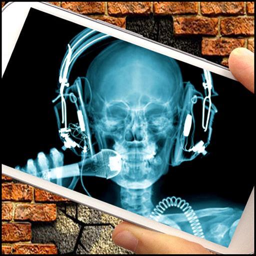 X-射線掃描儀牆 (笑话) LOGO-APP點子