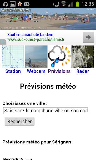 Météo Sérignan|玩天氣App免費|玩APPs