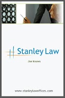 Screenshot of Stanley Law Auto Accident App