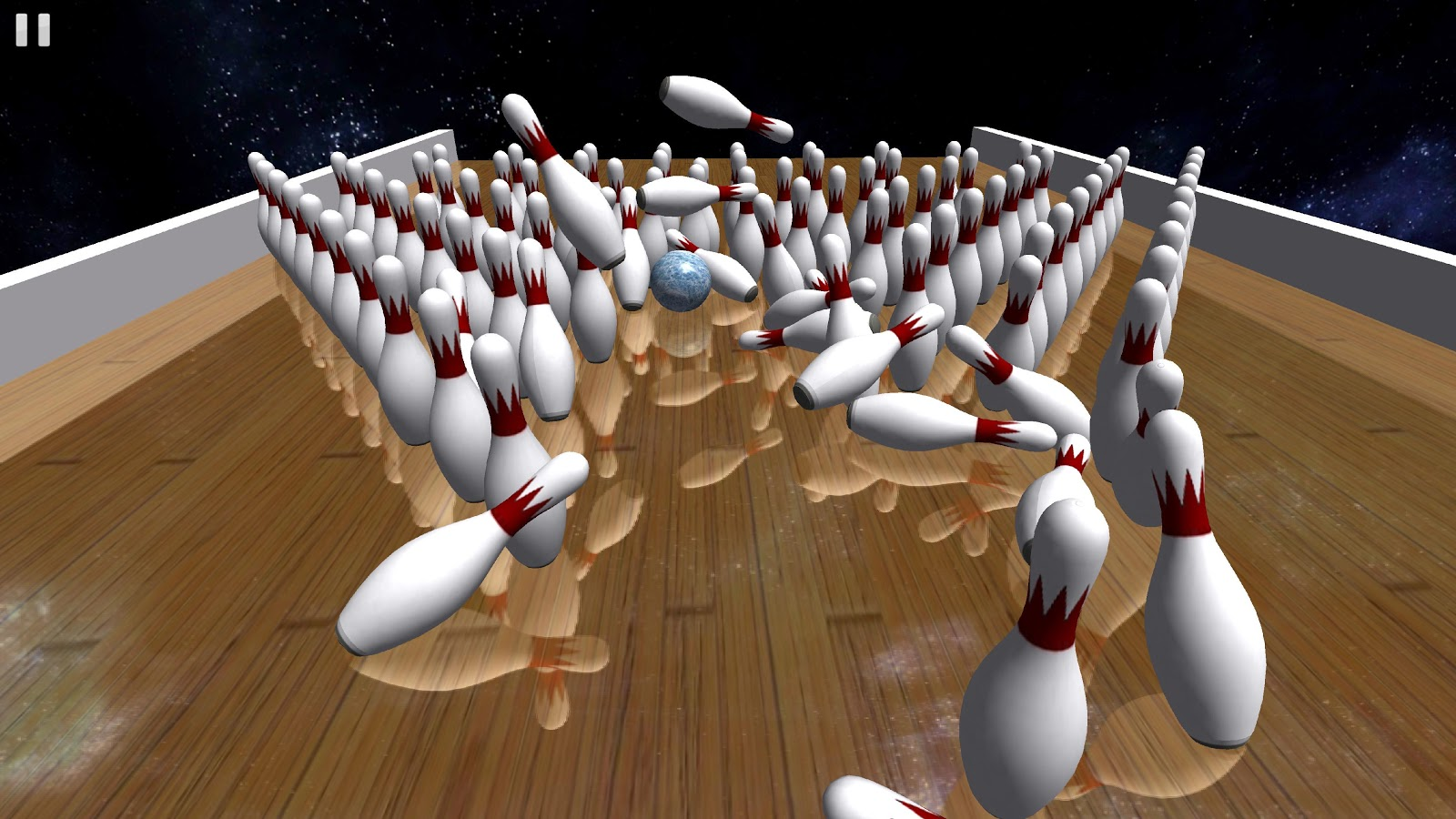 Galaxy Bowling ™ 3D - screenshot