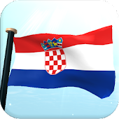 Croatia Flag 3D Free Wallpaper