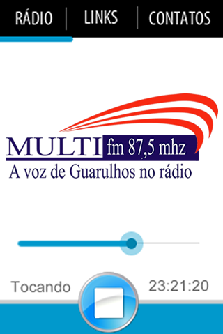Rádio Multi FM- screenshot