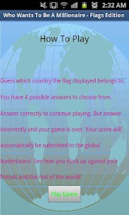 Millionaire - Flags Edition- screenshot thumbnail