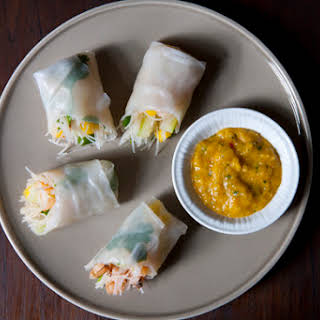 Cambodian-Style Spring Rolls.
