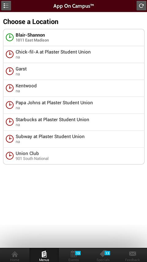 App On Campus - screenshot