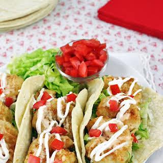Bang Bang Shrimp Tacos.
