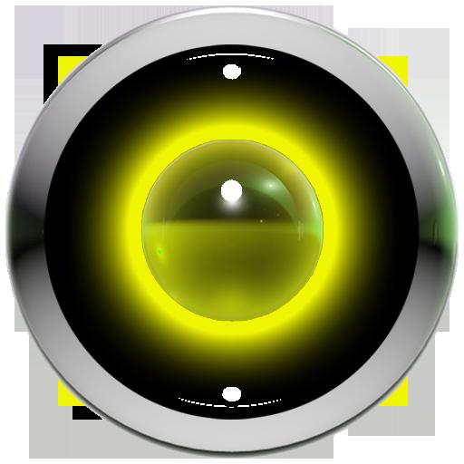 poweramp 肌の黄色の 3d 個人化 App LOGO-硬是要APP
