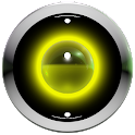 poweramp skin yellow 3d icon