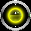 poweramp skin yellow 3d icon