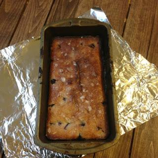 Blueberry Lemon Zucchini Bread with Lemon Glaze