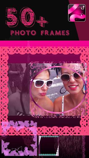 粉紅色 照片拼貼