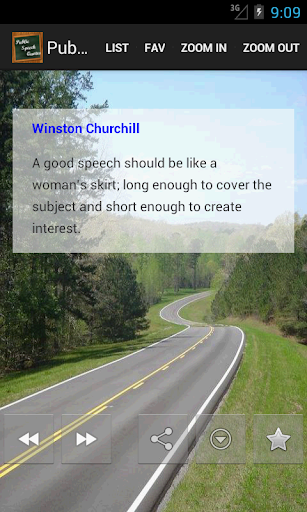Public Speech Quotes