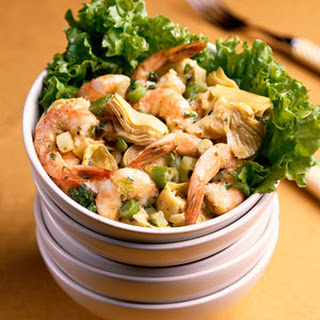 Marinated Shrimp and Artichokes