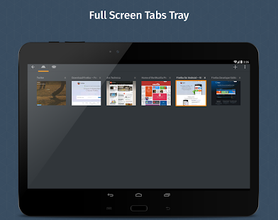 Firefox Browser for Android - screenshot thumbnail