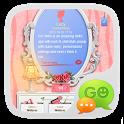 GO SMS Pro Lipstick PopThemeEX icon