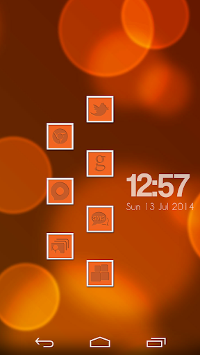 VM10 Orange Icon Set