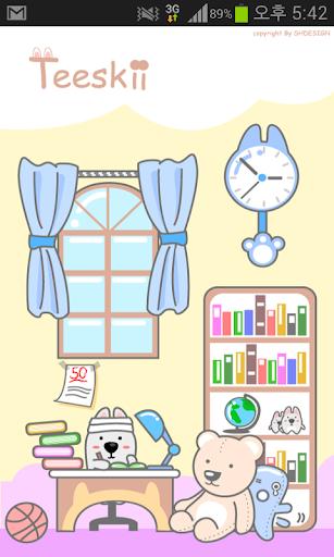 Teeskii's Room 티스키 카톡 테마
