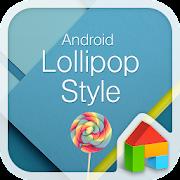 Lollipop LINE Launcher theme