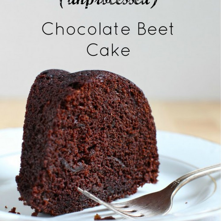 Dark Chocolate Beet Bundt Cake Recipe
