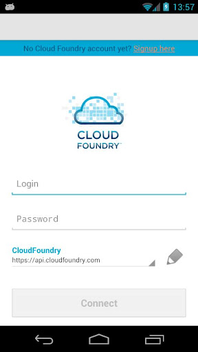 MobileClient for Cloud Foundry