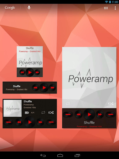 Widgets Kit for Poweramp  screenshots 14