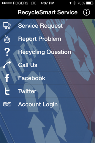 Recyclesmart Solutions- screenshot
