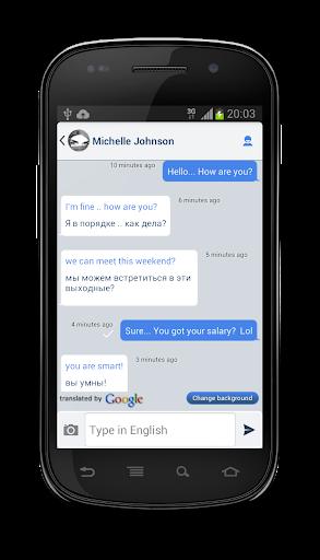 Lringo+ Messenger Translator 3.0.1 screenshots 2