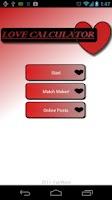 Screenshot of Match Maker Love Calculator