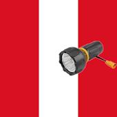Linterna flash led Perú