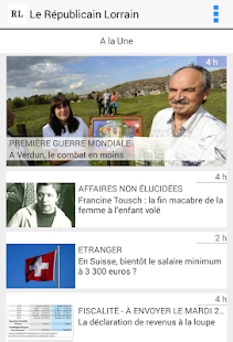 Le Républicain Lorrain - screenshot thumbnail