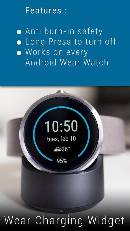 Wear Charging Widget screenshots