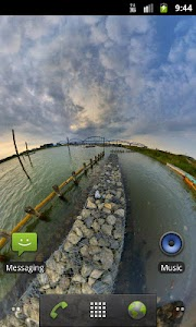 Panorama Lite Live Wallpaper screenshot 0