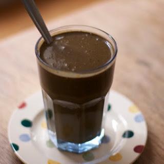 Chocolate detox drink Shrink Mummy Shake.