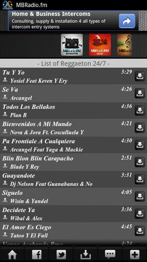 Bachata Radio 24/7 - screenshot