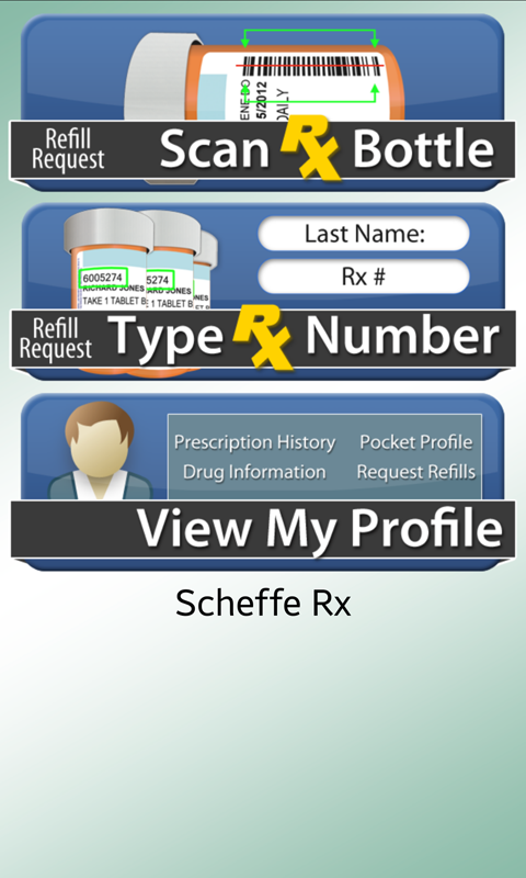 Scheffe Rx- screenshot
