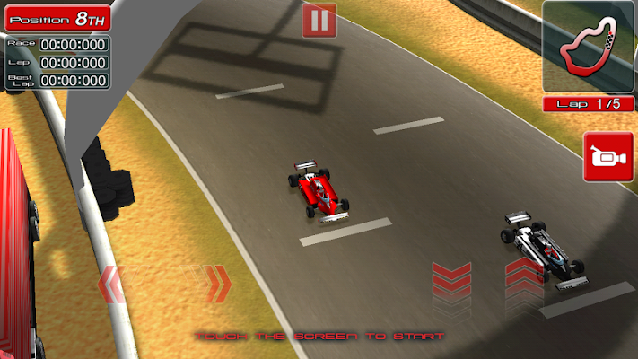 Legendary Racing - screenshot