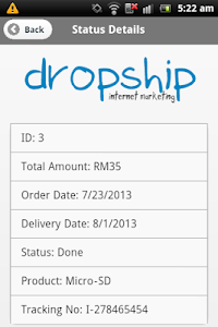 Dropship Internet Marketing screenshot 7