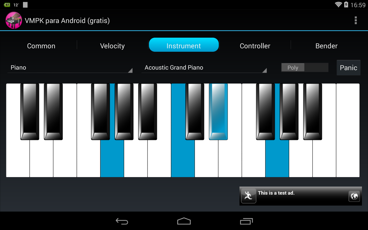 VMPK for Android Free- screenshot
