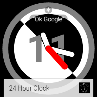 Psycho Watch Face
