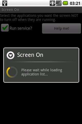 Screen On - screenshot