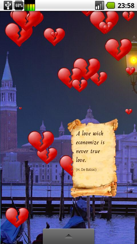 Be My Valentine Live Wallpaper - screenshot