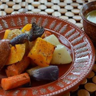 Roasted Root Vegetables with Cider Vinaigrette