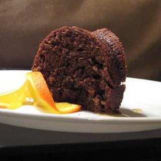 Zucchini Chocolate Orange Cake