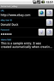 Bagusoft Password Safe Viewer- screenshot thumbnail