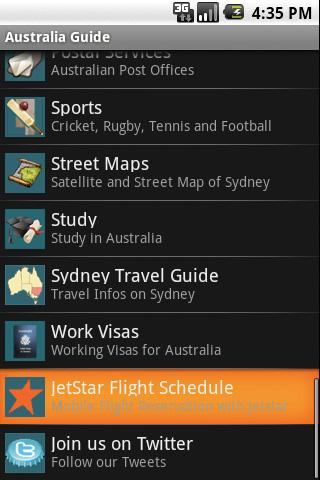 Australia Travel Guide - screenshot