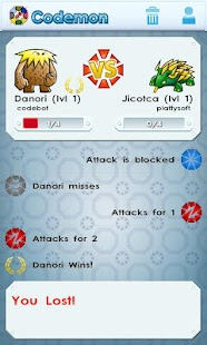 Codemon (Barcode Monsters)- screenshot thumbnail