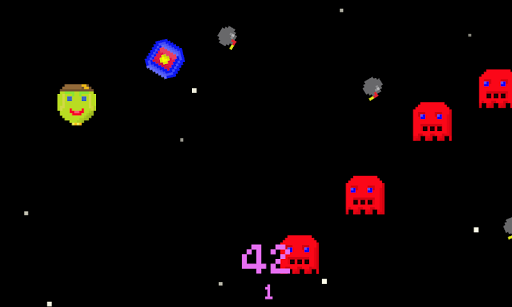 Space War Red Alert 8-bit Edit