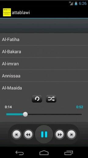 Quran mp3 - Mohammad Attablawi