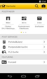 Post mobil Screenshot 1
